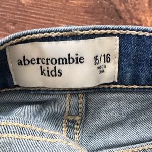 abercrombie kids Bottoms - Abercrombie Kids Jean Shorts Lace trim 15/16